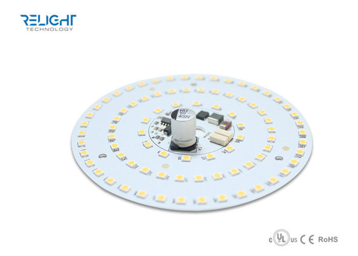 High Voltage 230V Dimmable LED Module Round 180mm Flicker Free Pandant Light Type